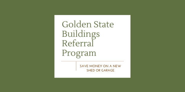 Our Referral Program | Save On A New Garage Or Shed